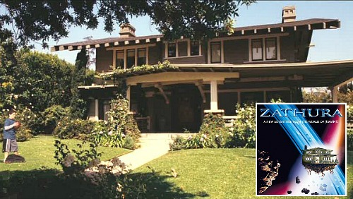 The craftsman house featured in the movie zathura for Model house movie