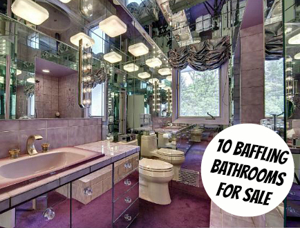 10 Baffling Bathrooms For Sale