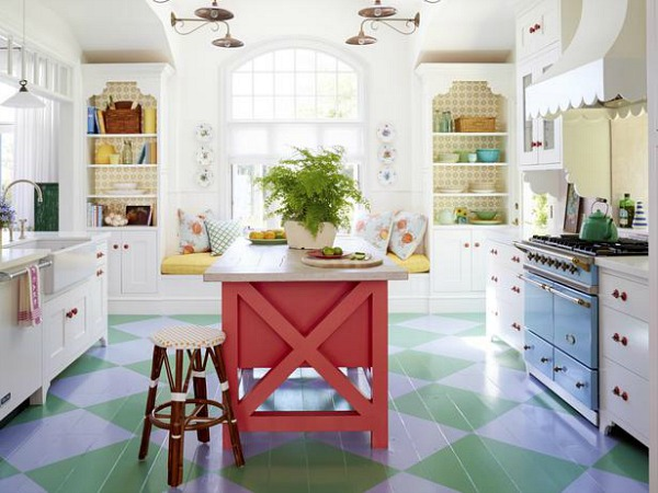 Designer Alison Kandler's Cottage Kitchen in HGTV Magazine | hookedonhouses.net