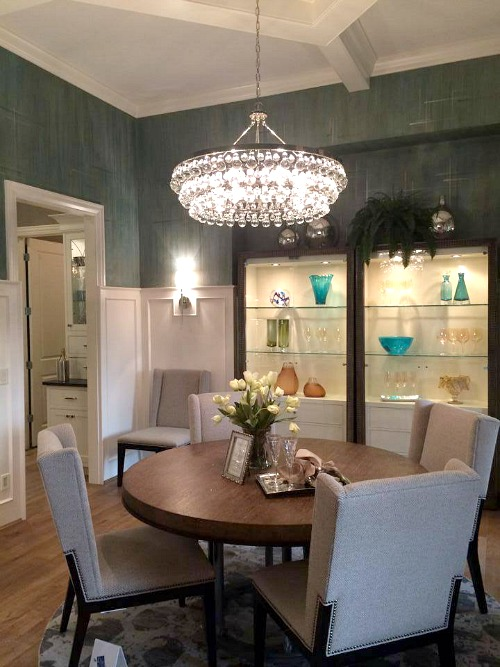 Bella Noelle model home dining room