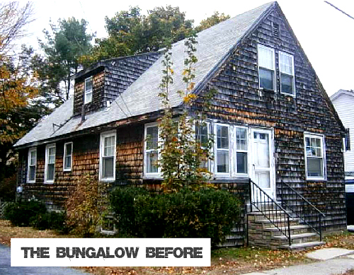 Craftsman Bungalow Makeover in Maine | hookedonhouses.net