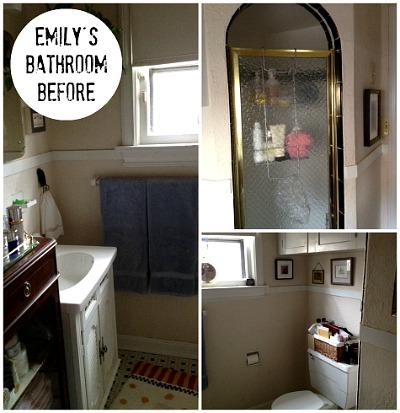 Emily Johnston's Bathroom Makeover BEFORE