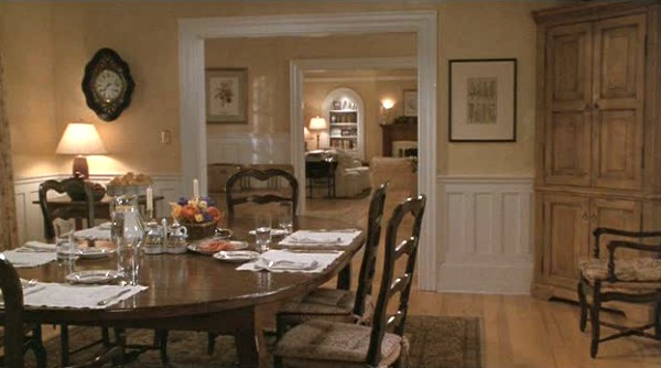 Father of the Bride house-dining room