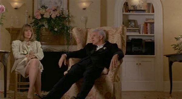 George and Nina Banks after the wedding FOTB