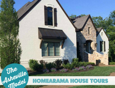 Homearama House Tour #2: The Asheville Model