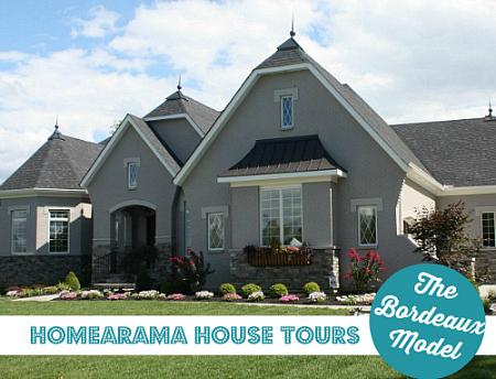 Homearama House Tour Bordeaux Model