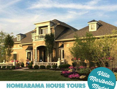 Homearama House Tour #4: The Villa Maribella Model