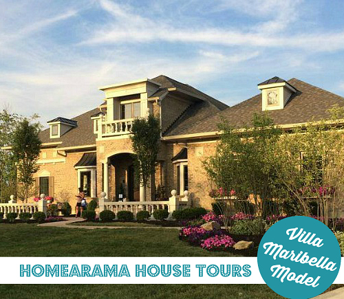 Homearama House Tour Villa Maribella Model