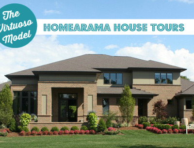 Homearama House Tour #3: The Virtuoso Model