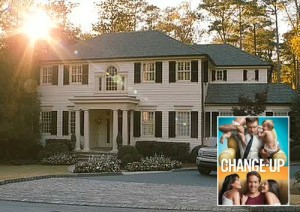 "Jason Bateman's Traditional White House in ""The Change-Up"" Movie 