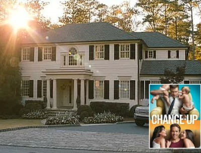 "Jason Bateman's House in ""The Change-Up"""