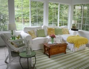 Julia's Sunroom Hooked on Houses Summer