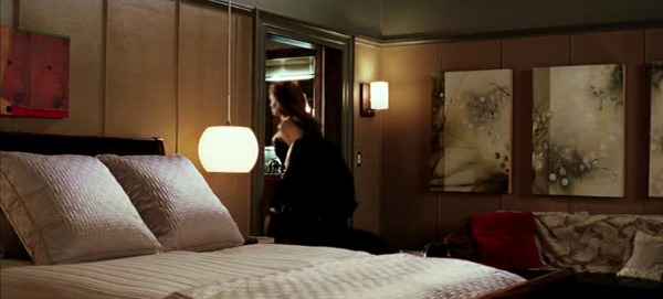 Mr. and Mrs. Smith movie house bedroom