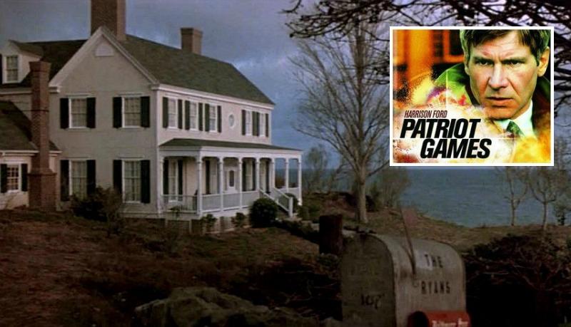 Patriot Games movie Jack Ryan's house Maryland