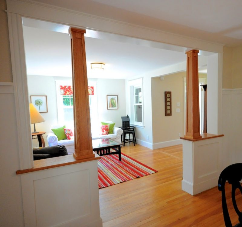Craftsman-style bungalow remodel in Maine