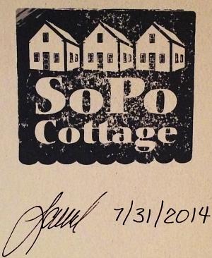 SoPo Cottage Laurel's signature