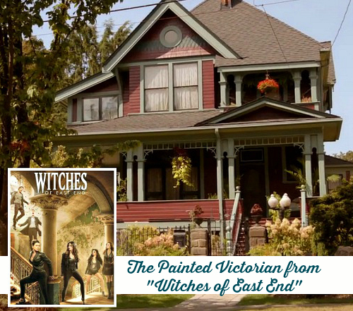 "Inside the Red Victorian House on the TV Show ""Witches of"