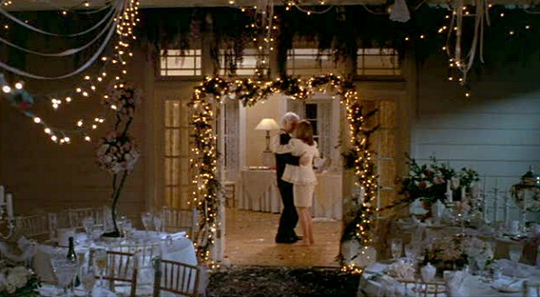 Steve Martin and Diane Keaton Dancing after the wedding