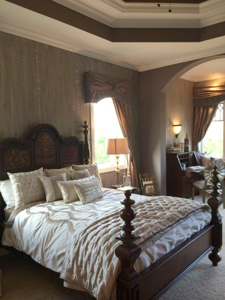 master suite at Homearama