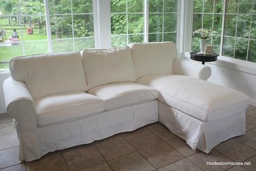 new Ektorp sofa from IKEA