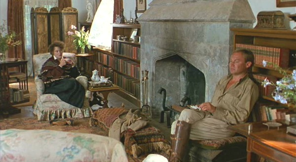 Bror and Karen Blixen in Out of Africa