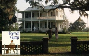 "The house from the movie ""Forrest Gump"" 