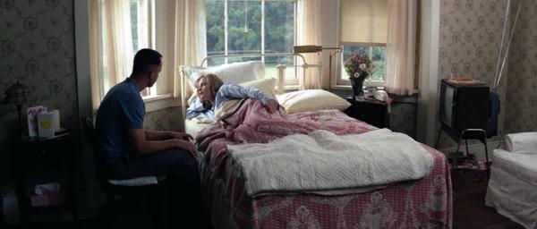 screenshot of bedroom in Forrest Gump house