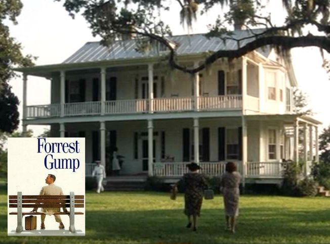 Forrest Gump movie house in Alabama