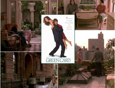 """Andie MacDowell's Apartment in """"Green Card"""""""
