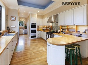 House Beautiful Kitchen of the Year 2014 BEFORE | hookedonhouses.net