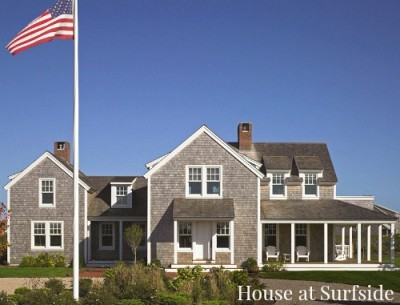 House at Surfside on Nantucket front exterior shingle siding