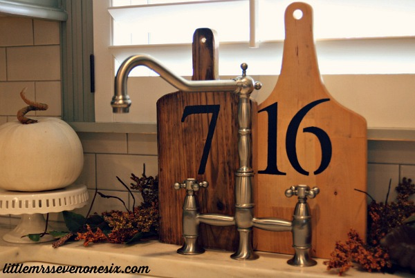 House-number-cutting-boards