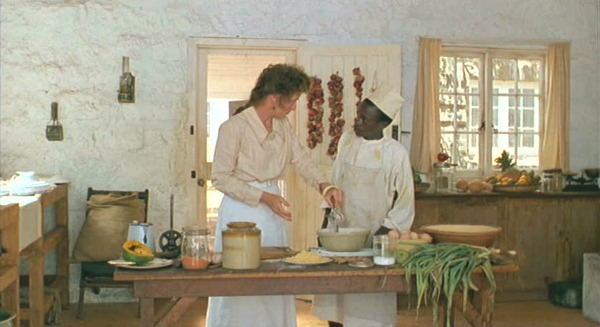 Isak Dinesen's kitchen in Out of Africa movie