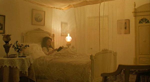 Karen Blixen's bedroom canopy