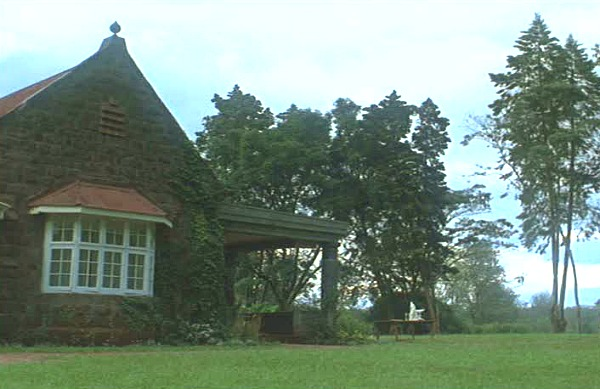 "Karen Blixen's house in ""Out of Africa"" 