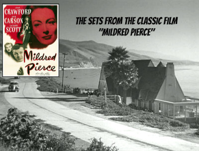 "The Beach House from the Classic Movie ""Mildred Pierce"" 