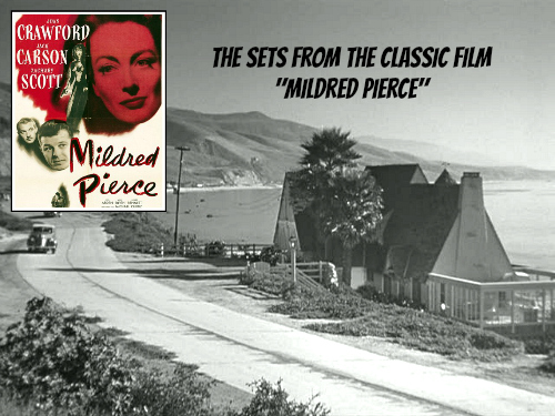 """The Beach House from the Classic Movie """"Mildred Pierce"""" 