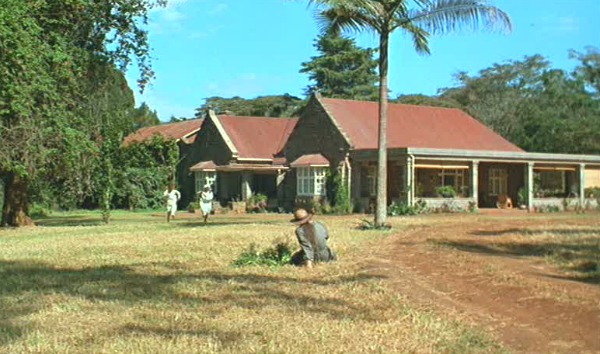 Out of Africa-Karen Blixen's house exterior