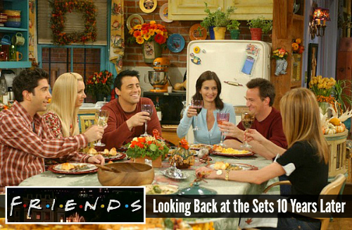 Set Design on the TV Show Friends