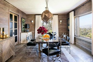 Ellen Pompeo's Dining Room in AD 2014