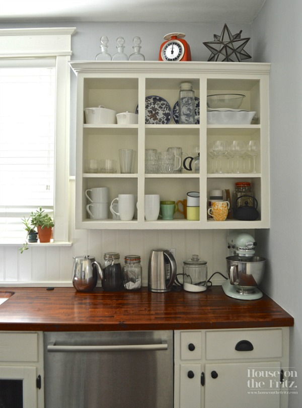An old kitchen gets a new look for less than 1 500 for Kitchen cabinets 4 less