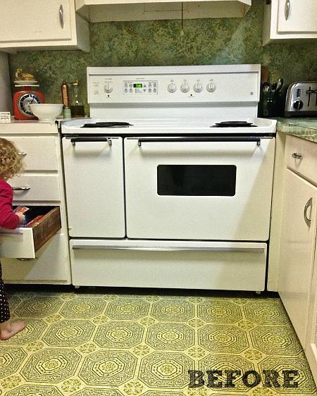 Kitchen Renovation BEFORE (2)