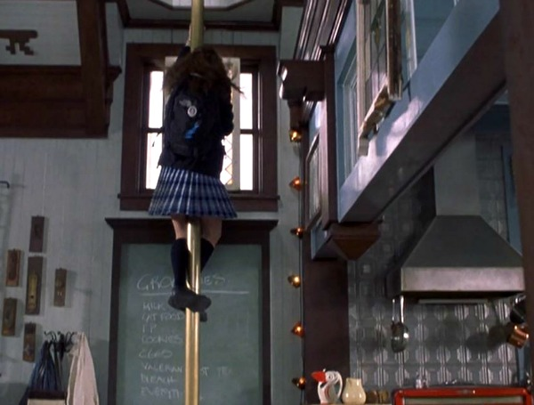 "The converted firehouse in ""Princess Diaries"" 