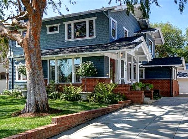 Old Craftsman House in Pasadena AFTER 2