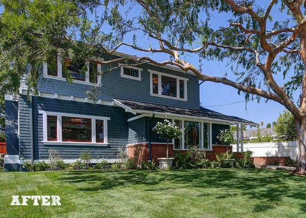 Old Craftsman House in Pasadena AFTER | hookedonhouses.net