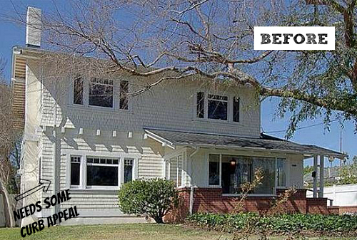 Giving An Old California Craftsman New Curb Appeal Hooked On Houses Bloglovin