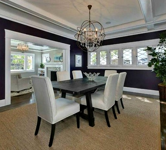 Plum dining room AFTER