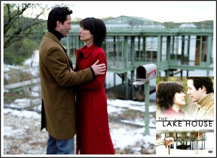The Lake House movie glass house