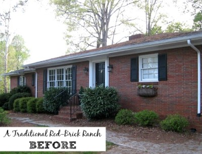 Giving a Basic Brick Ranch Curb Appeal (and More)