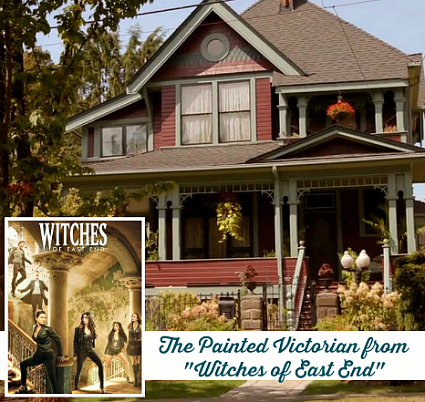 Witches of East End Victorian house